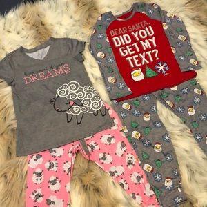 Girls Size 10 Justice Pajamas (Set of 2)